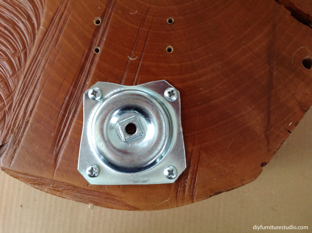 Attaching Waddell top plate to DIY furniture.